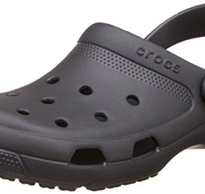 Crocs Coast Clog, Graphite, Men's 12, Women's