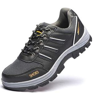 Eclimb Women's Steel Toe Safety Work Shoes Slip Resistant