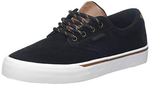 Etnies Men's Jameson Vulc Skate Shoe, Black/Gold