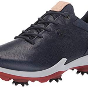 ECCO Men's Biom G3 Gore-TEX Golf Shoe, True Navy Yak Leather