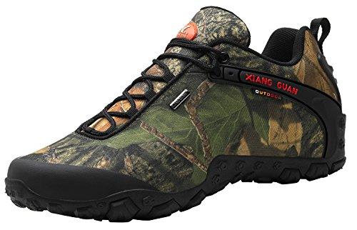 XIANG GUAN Men's Outdoor Low-Top Camouflage Water Resistant