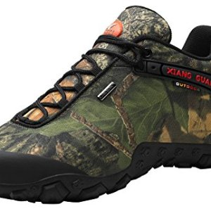 XIANG GUAN Men's Outdoor Low-Top Camouflage Water Resistant