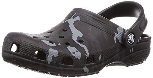Crocs Classic Graphic Clog, Black