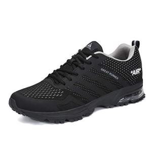 Mens Womens Air Cushion Shoes Breathable Mesh Running Walking Jogging Tennis Sports Sneakers