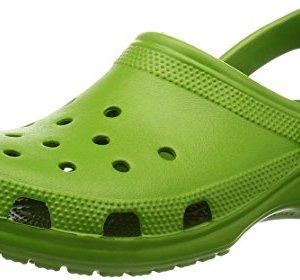 Crocs Unisex Classic Clog Parrot Green Clog/Mule Men's