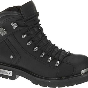 HARLEY-DAVIDSON Men's Electron Motorcycle Boot, Black