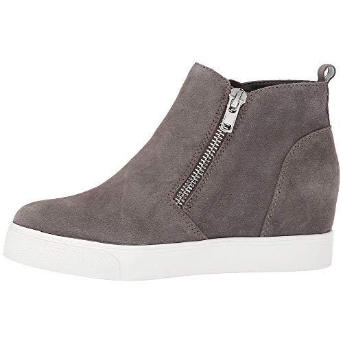 Women's Heel Wedge Casual Sneakers High Top Platform