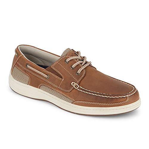 Dockers Men's Beacon Boat Shoe, Dark Tan