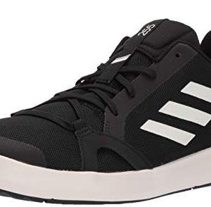 adidas Men's Terrex CC Boat Water Shoe, Black/chalk White/Black