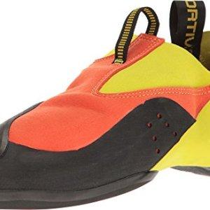 La Sportiva MAVERINK Climbing Shoe, Flame/Sulphur