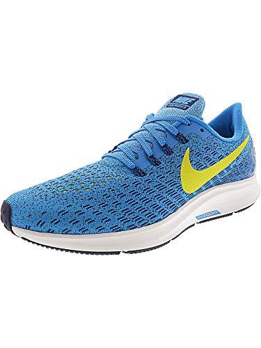 Nike Men's Air Zoom Pegasus 35 Running Shoe Blue Orbit/Bright Citron/Blue