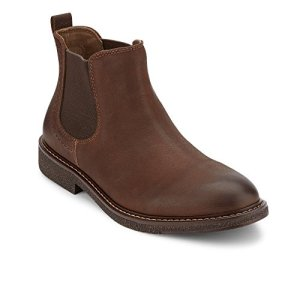 Dockers Men's Stanwell Chelsea Boot, brown-205, 10.5 M US