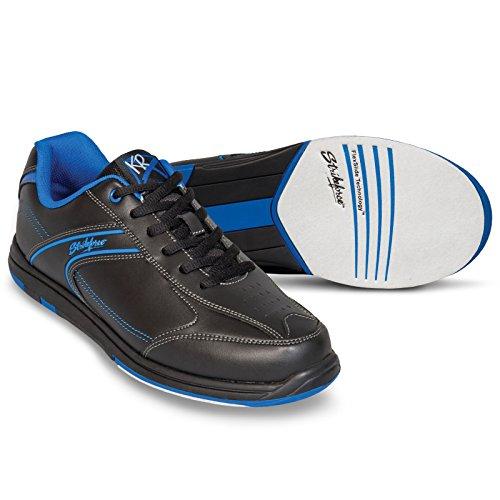 KR Strikeforce M-032-120 Flyer Bowling Shoes, Black/Mag Blue, Size 12