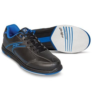 KR Strikeforce M-032-120 Flyer Bowling Shoes, Black/Mag Blue, Size 12