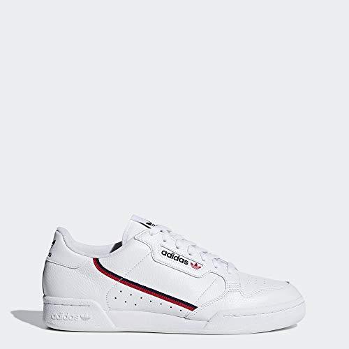 adidas Originals Men's Continental Sneaker, White/Scarlet/Collegiate Navy
