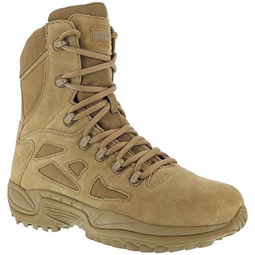 "Reebok Mens Rapid Response RB 8"" Tactical Military Boot"