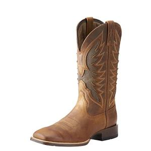 ARIAT Men's Venttek Ultra Western Boot Distressed Brown