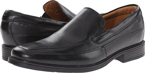 Clarks Tilden Free Slip-On Loafer, Black Leather
