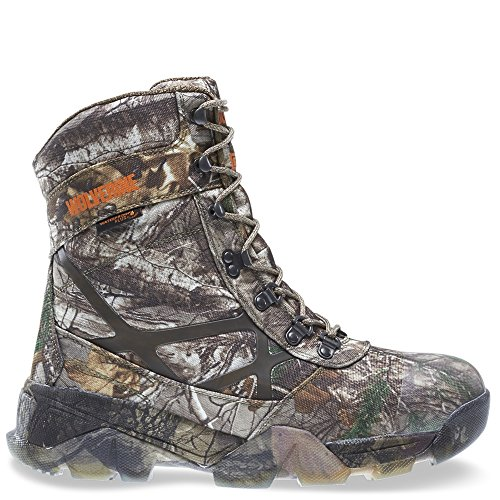 Wolverine Men's Archer 8 Inch Insulated Waterproof-M Hunting Boot, Realtree Extra, 7.5 3E US