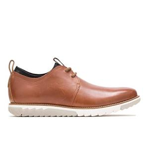 Hush Puppies Men's Performance Expert Oxford, Cognac Leather