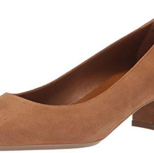 Aquatalia Women's Pasha Dress Suede Pump, Sand, 7.5 M US