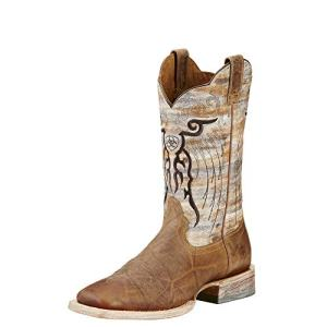 Ariat Men's Mesteno Western Cowboy Boot, Dust Devil Tan/Marble, 10.5 D US