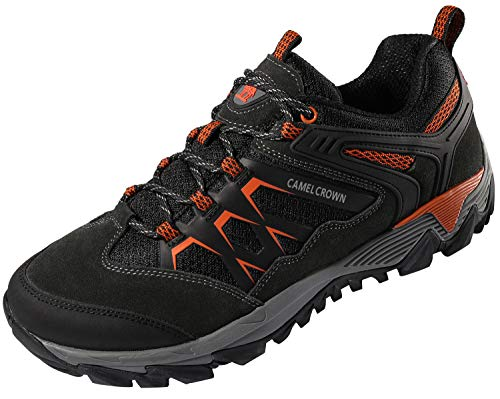 CAMEL CROWN Men's Hiking Shoes, Lightweight Non-Slip Sneakers