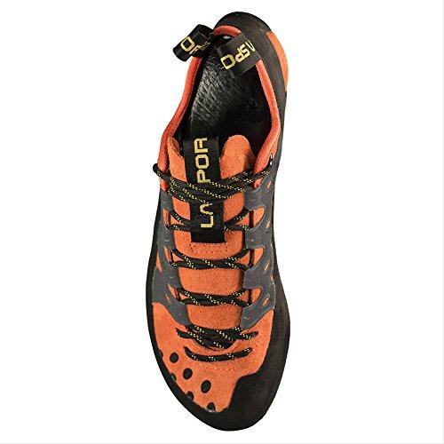 La Sportiva Men's TarantuLace Rock Climbing Shoe La Sportiva Men's TarantuLace Rock Climbing Shoe, Flame, 43.