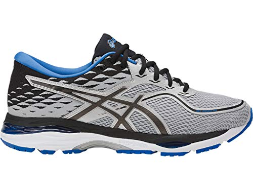 ASICS Mens Gel-Cumulus Running Shoe, Grey/Black/Directoire Blue