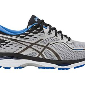ASICS Mens Gel-Cumulus Running Shoe, Grey/Black/Directoire Blue