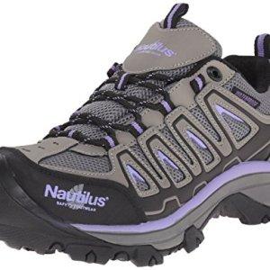 Nautilus Safety Footwear Women's Work Shoe, Grey