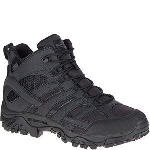 Merrell Mens Moab 2 Mid Tactical Wp, Color: Black, Size: 13, Width: M (J15853-13)