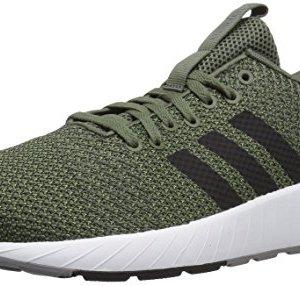 adidas Men's Questar BYD Running Shoe, Base Green/Black/Grey, 9.5 M US