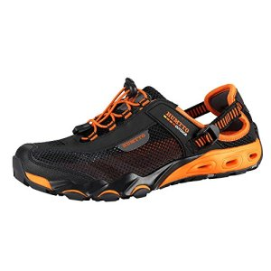 Mens Water Shoes Hiking Aqua Shoes Quick Dry Breathable