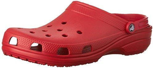 Crocs Classic Clog Comfortable Slip On Casual Water Shoe, Pepper