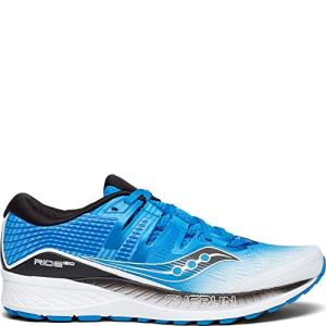 Saucony Ride ISO Wide Men White | Black | Blue
