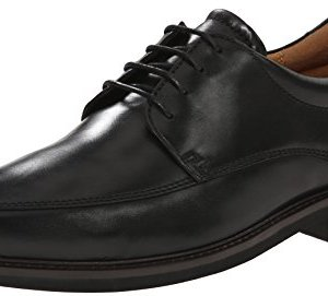 ECCO Men's Holton Apron Toe Oxford, Black