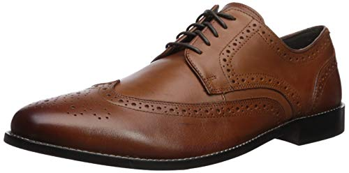 Nunn Bush Men Nelson Wing Tip Oxford Dress Casual Lace-Up