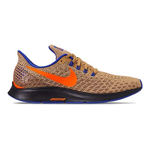 Nike Men's Air Zoom Pegasus Running Shoe, Club Gold/Total Orange-racer Blue