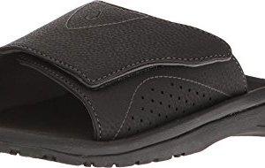OLUKAI Men's Nalu Slide Black/Black