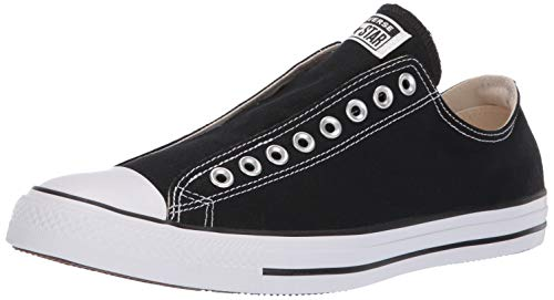 Converse Men's Chuck Taylor All Star Slip Sneaker, White/Black