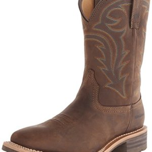 Ariat Men's Hybrid Rancher H2O Western Cowboy Boot, Oily Distressed Brown, 9.5 M US