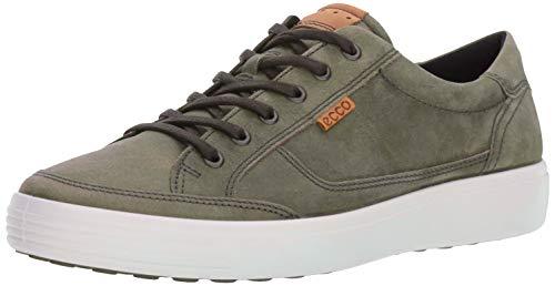 ECCO Men's Soft Fashion Sneaker, Wild Dove grey