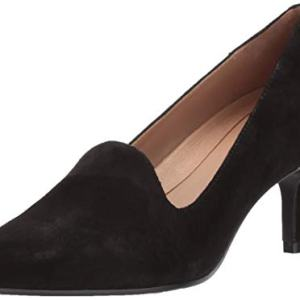 Aerosoles Women's Macrame Pump, Black Suede