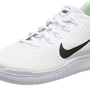 Nike Men's Free Running Shoe White/Black Size