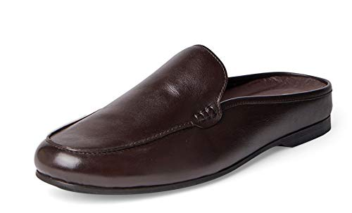 Carlos Santana PLANEO Leather Slip in Comfort Slides