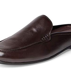 Carlos Santana PLANEO Leather Slip in Comfort Slides