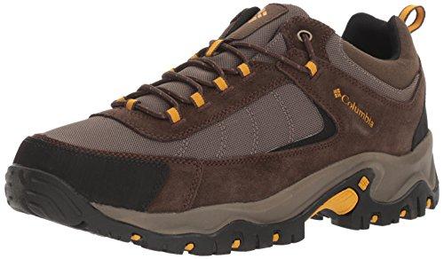 Columbia Men's Granite Ridge Hiking Shoe, Mud, Golden Yellow
