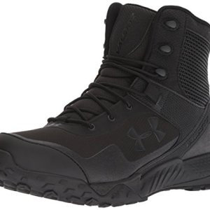 Under Armour Men's Valsetz RTS 1.5 - Wide (4E) Military and Tactical, Black (001)/Black, 10.5 US