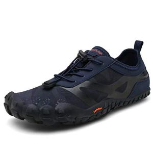 Mens Outdoor Hiking Shoes Wide Toe Barefoot Trekking Trail Running Shoes for Men